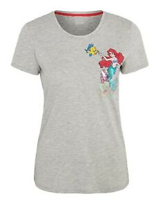 The Little Mermaid - Ladies size 16 t shirt with sequin accents