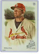 Yadier Molina 2019 Allen and Ginter 5x7 #63 /49 Cardinals