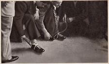 D5440 Scarpe da calcio - Stampa d'epoca - 1938 vintage print