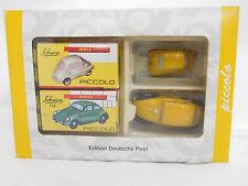 eso-8002Schuco Piccolo 1:90 Set VW 712 und BMW Isetta Edition Deutsche Post