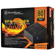 NEW SilverStone 600W 80 Plus Gold Modular SFX Power Supply MPN # sst-sx600-g