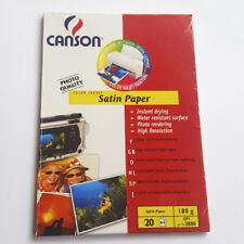 Canson Color Inkjet Satin Paper 20 Sheets