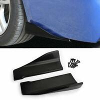 2pcs Fibra Di Carbonio Crash Protezione Paraurti Profilo Spoiler Angel Splitter