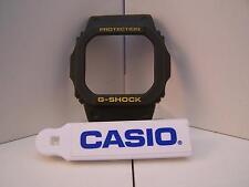 Casio Watch Parts G-5600 A-3, GW-M5600.Bezel/Shell Green w/Yellow Letter G-Shock