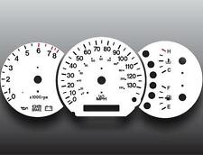 Fits 2004-2005 Kia Sedona Dash Instrument Cluster White Face Gauges