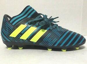 Adidas Youth Jr Nemeziz 17.3 FG Soccer Cleats Blue S82427 Choose Size