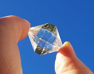 Clear Quartz Octahedron - Sacred Geometry- Balancing All Chakrs-Root to Crown