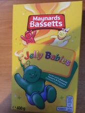 400gram BOX OF MAYNARDS BASSETTS JELLY BABIES, BRITISH SWEETS, SHIP WORLDWIDE