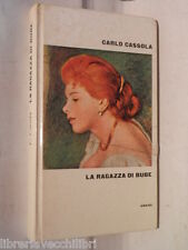 LA RAGAZZA DI BUBE Carlo Cassola CDE I premi Strega 1984 libro romanzo racconto