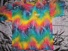 BALI TIE DYE  T-SHIRT 1995 michael jackson disneyland hippy KATUT rainbow surfer