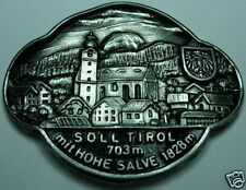 Söll Tirol mit Hohe Salve stocknagel medallion G4982
