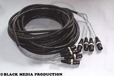 prof. 4 Kanal XLR AES/EBU Multicore-Kabel 20m HiCon 110 Ohm - DMX geeignet *NEU*