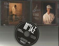 J. SPENCER w/ MINT CONDITION U should be Mine EDIT & ACAPELA PROMO CD Single J