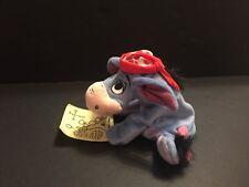 Fisher Price Eeyore Star Bean Plush Stuffed Animal Winnie the Pooh Map Disney