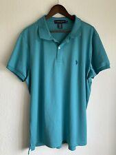 U.S. Polo Assn. Size XL Men's Green Short-Sleeved Polo Shirt
