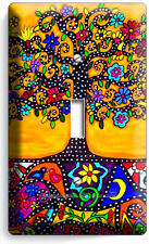 MEXICAN TREE OF LIFE FOLK ART LIGHT SINGLE SWITCH WALL PLATE ROOM HOUSE HD DECOR