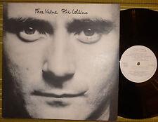 PHIL COLLINS, FACE VALUE /DEBUT ALBUM/ LP 1981 UK EX/EX+ GATEFOLD/SL V2185