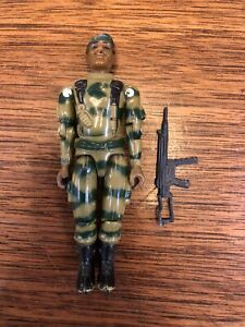 Vintage GI Joe Action Figure ARAH Straight Arm Stalker w/Accessories 1982