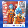 S.H. Figuarts Super Saiyan God Blue Goku Dragon Ball Broly Action Figure Bandai