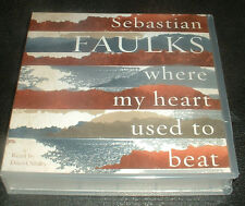 SEB FAULKS;WHERE MY HEART USED TO BEAT; 9 CD,S AUDIO BOOK  BRAND  NEW SEALED