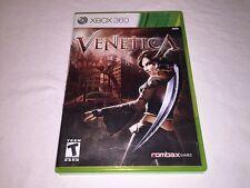 Venetica (Microsoft Xbox 360) Original Release Complete Excellent!
