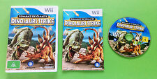 Combat Of Giants Dinosaurs Strike- Nintendo Wii - See My Ebay Store For More
