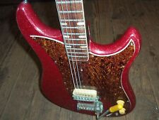 60's Norma EG-470-1 Electric Red Sparkle