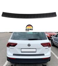 Rear bumper trim for VW Tiguan 2016-2020 Volkswagen plate sill protector cover