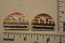 TWO Old 1989 Limited Edition NBA Basketball Pins - Denver Nuggets