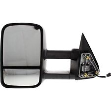 New GM1321411 Left Side Heated Tow Mirror For Cadillac / Chevrolet 1500 1999-02