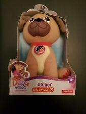 DORA & FRIENDS PLUSH PET DIGGER dog puppy Rare HTF *NEW*