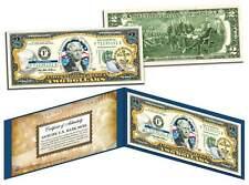TENNESSEE $2 Statehood TN State Two-Dollar U.S. Bill *Legal Tender* w/Folio