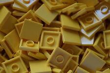 LEGO 50 x YELLOW FLAT TILES BRICKS 2 x 2   No 3068 CITY-STAR WARS-FRIENDS