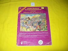 B2 THE KEEP ON THE BORDERLANDS DUNGEONS & DRAGONS TSR 9034 6 MODULE 1ST PRINT