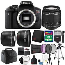Canon EOS Rebel T6/1300D DSLR Camera 18-55mm Slave Flash and Accessory Bundle