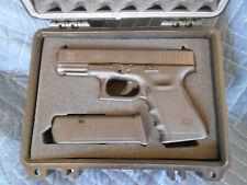 CUSTOM GLOCK 19 pistol case  & more models with solid foam cutout Apache 1800