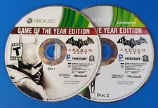 Batman: Arkham City -- Game of the Year Edition (Xbox 360) DISCS ONLY #5566