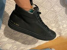 Common Projects Original Achilles High Top in Black size 44