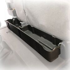 Underseat Storage Box 2009-14 fits Ford F-150 Super Cab Extend Cab Black