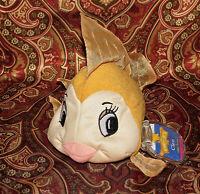 "Walt Disney Mattel Star Beans Pinocchio Cleo Gold Fish Plush Bean Bag 6"" New"