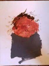 Philippe Croq : Peinture Technique mixte sur papier, signée et datée au dos