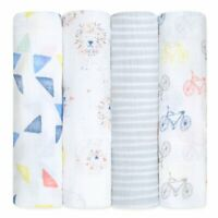 Aden + Anais Leader of the Pack 4 pack classic swaddle