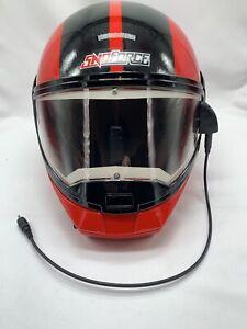 Snoforce YAMAHA Full Face Snowmobile Helmet Size XL DOT Nice! HEATED SHEILD!