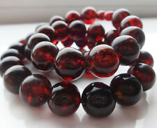 Natural Baltic Amber Cherry Necklace  47.7 gr