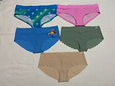 Pink By Victoria's Secret Panties Lot Of 5 Hipster Size Extra Large *NWT*