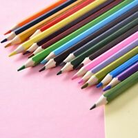 12-48PCS Colouring Drawing Pencils Set Drawing Artist Kids Stationery Supplies