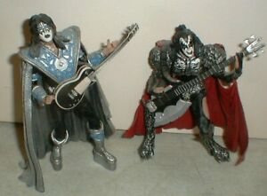 2002 KISS Creatures McFarlane Music Action Figures Space Ace The Demon Gene