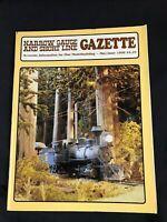 Narrow Gauge and Short Line Gazette May/June 1998