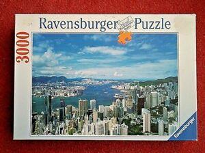 Ravensburger HONG KONG SKYLINE 3000 Piece Jigsaw Puzzle - Complete.