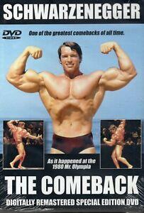 Arnold Schwarzenegger - The Comeback - Body Building - New Sealed